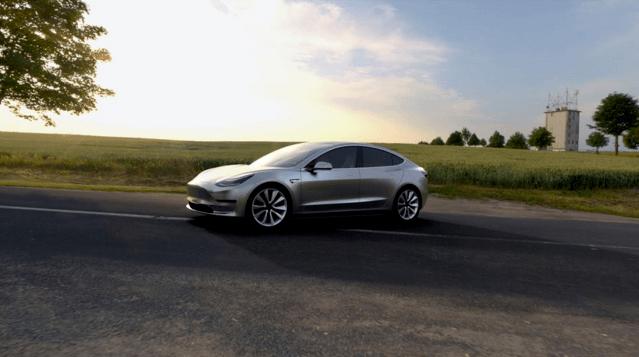 Model 3 from Tesla
